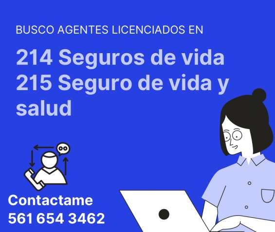 Busco agentes licenciados
