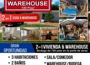 Se vende casa & warehouse 2 en 1