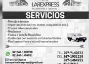 SE REALIZAN MENAJES DE CASA ENTODO USA Y MEX