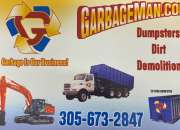 Dumpster , Dirt, Demolition