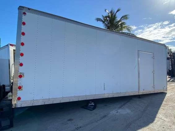 Us truck body 24ft dry box stock 346