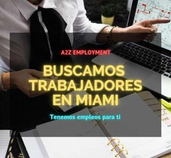 Agencia de empleos en miami