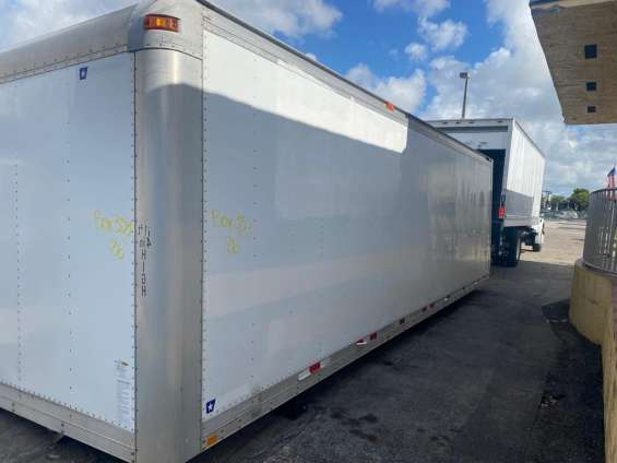 Dry box for sale 26ft