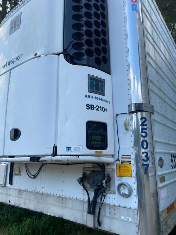 2010 utility 3000r 53ft reefer trailer with sb 210+